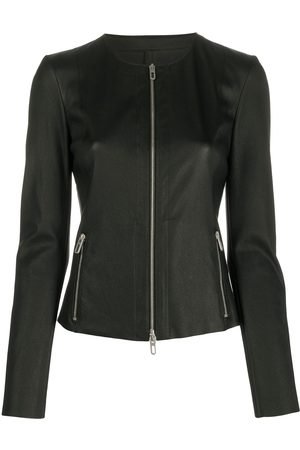 DROME Collarless fitted jacket