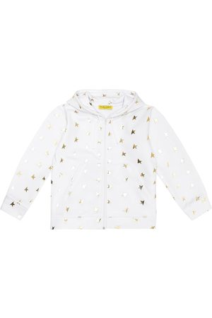 Golden Goose Printed stretch-jersey hoodie