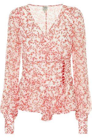 Baum und Pferdgarten Matinez floral blouse