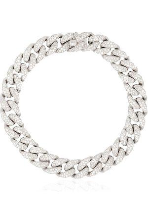 Shay 18K white gold pavé diamond bracelet