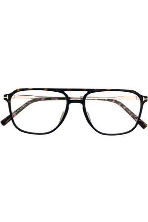Tom Ford Tortoiseshell aviator glasses