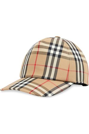 Burberry Check print baseball cap
