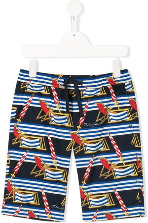 Dolce & Gabbana All-over print swim shorts