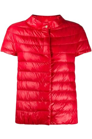HERNO Short-sleeved padded jacket