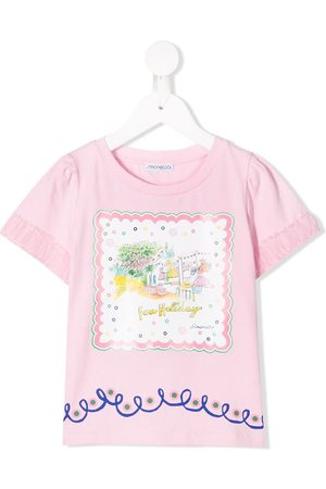 Simonetta Fun Holiday printed T-shirt