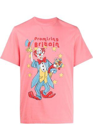 MARTINE ROSE Promising Britain cotton T-shirt