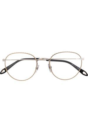 Givenchy Studded round frame glasses