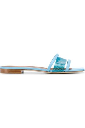 MALONE SOULIERS Mesh panel sandals