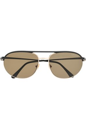 Tom Ford Rounded-aviator sunglasses