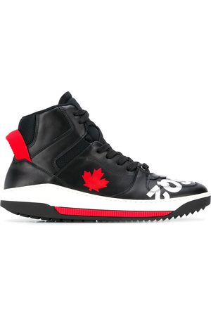 Dsquared2 Maple Leaf hi-top sneakers