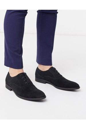ASOS Oxford shoes in faux suede