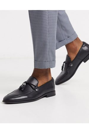 ASOS Loafers in faux leather with tassel detail