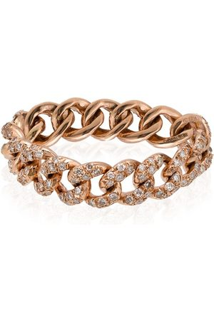 Shay 18kt rose gold chain link ring