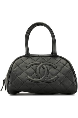 CHANEL 2006 diamond quilted CC tote