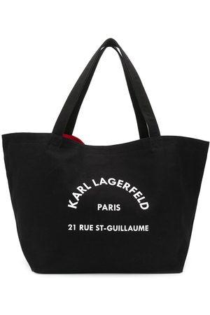 Karl Lagerfeld Logo-print tote bag