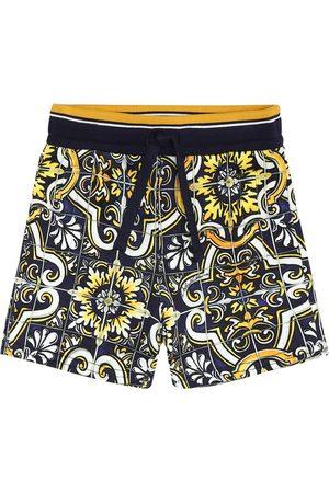 Dolce & Gabbana Baby printed cotton shorts