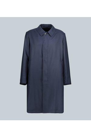 CARUSO Reversible cashmere coat