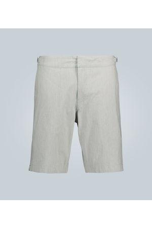 Orlebar Brown Dane II fine striped shorts
