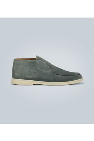 Loro Piana Men Loafers - Open Walk suede shoes