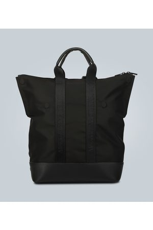 Alexander McQueen Women Luggage - Leather-trimmed convertible backpack