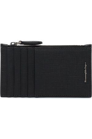 Ermenegildo Zegna Saffiano textured wallet