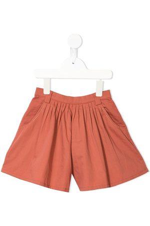 Velveteen Girls Shorts - Debbie flared shorts
