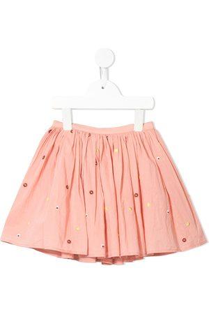 Velveteen Jemima floral tutu skirt