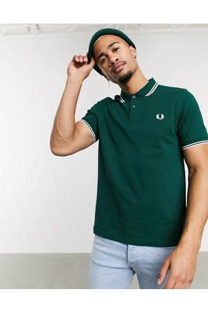Fred Perry Twin tipped logo polo in