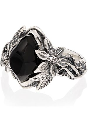 Lyly Erlandsson Aria sterling silver stone ring