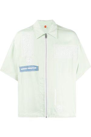 Heron Preston Short sleeved zipped shirt