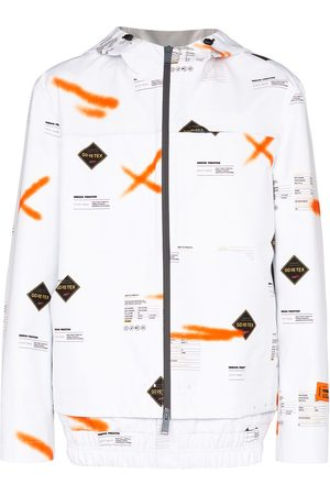 Heron Preston GORE-TEX printed windbreaker jacket