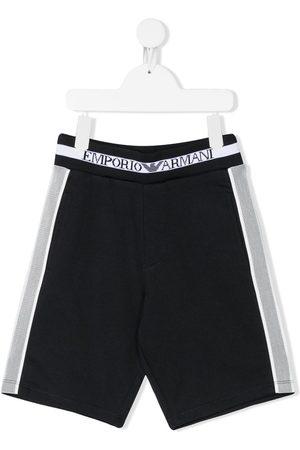 Emporio Armani Elasticated casual shorts