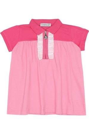 Moncler Baby stretch-cotton dress