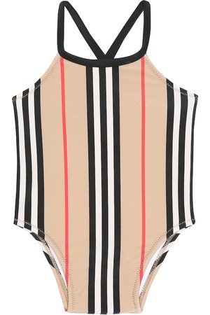 Burberry Baby Crina Icon Stripe swimsuit