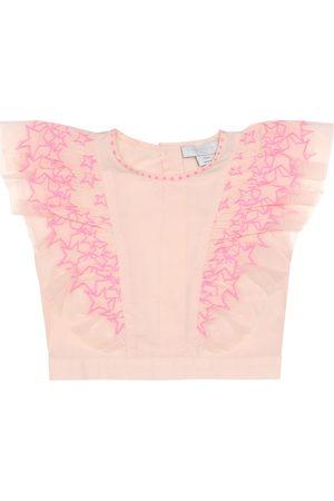 Stella McCartney Embroidered cotton top