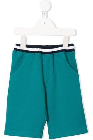 Familiar Contrast waistband shorts
