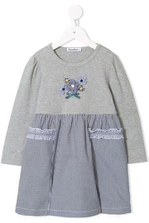 Familiar Girls Casual Dresses - T-shirt-panelled dress