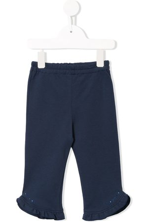 Familiar Girls Pants - Frill-trimmed trousers