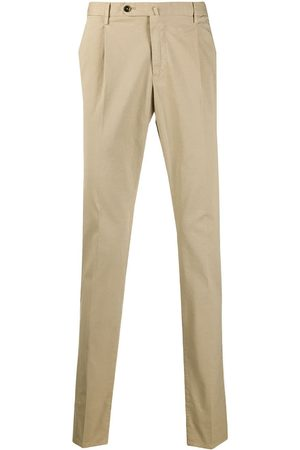 PT01 Slim-fit mid-rise chinos
