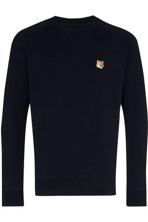Maison Kitsuné Fox patch cotton sweatshirt