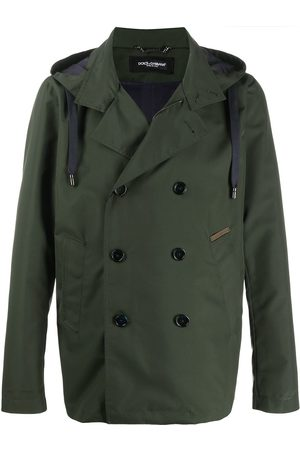 Dolce & Gabbana Double-breasted hooded jacket