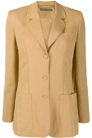 Alberta Ferretti Oversized pinced blazer
