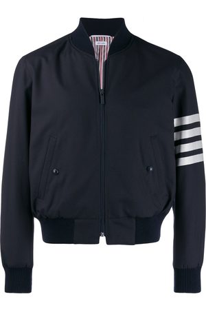 Thom Browne Stripe detail bomber jacket