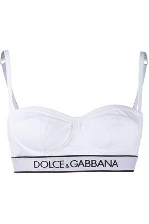 Dolce & Gabbana Women Bustiers - Logo bra