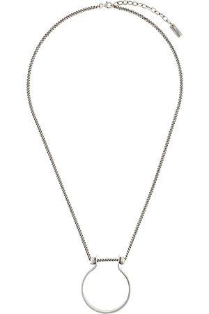 Saint Laurent Ring pendant necklace