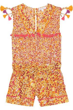 POUPETTE ST BARTH Girls Printed Dresses - Mya floral jumpsuit