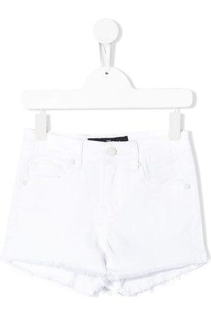 John Richmond Junior Mid-rise denim shorts