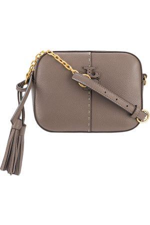 Tory Burch Logo plaque leather shoulder bag