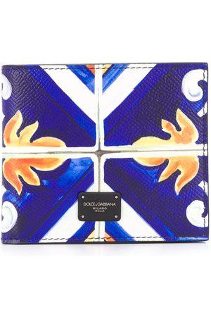 Dolce & Gabbana Tile print bi-fold wallet
