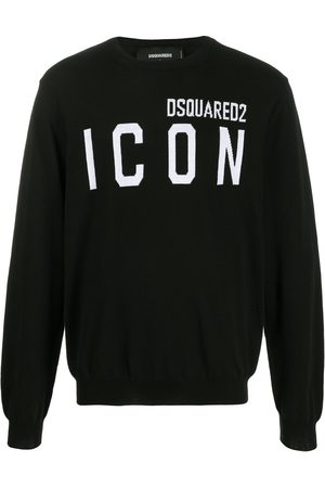 Dsquared2 Men Jumpers - ICON logo intarsia jumper